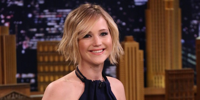 Jennifer Lawrence is Forbes Top Grossing Actor