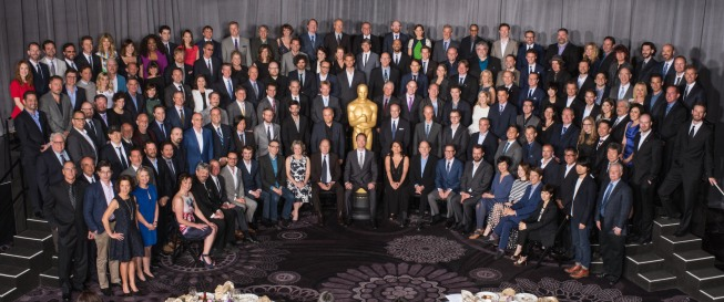 Oscar Nominees Group Photo