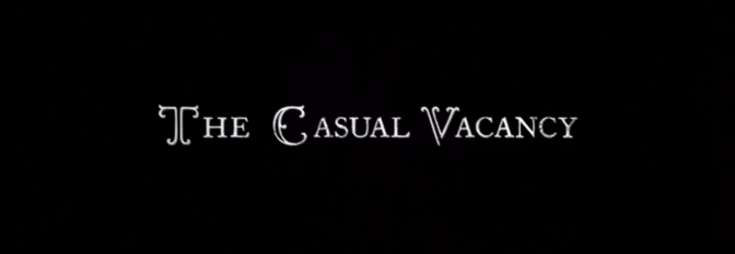 'The Casual Vacancy' Trailer by J.K. Rowling
