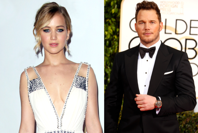 Jennifer Lawrence & Chris Pratt Wanted for 'Passengers'