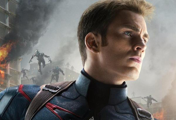 Captain American & Hawkeye Character Posters for 'Avengers 2'