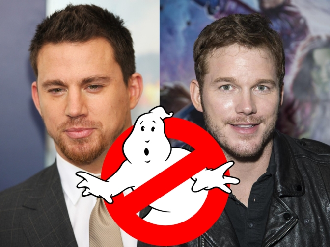 Channing Tatum and Chris Pratt to Star in Male 'Ghostbusters'