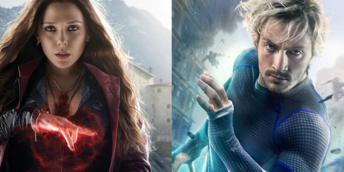 'Avengers 2': Quicksilver & Scarlet Witch Character Posters Revealed
