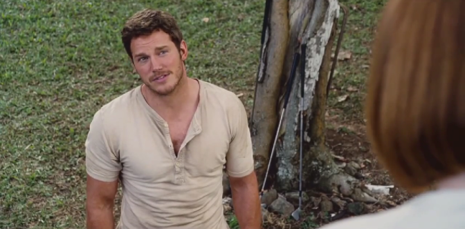 'Jurassic World': First Clip Debuts with Chris Pratt