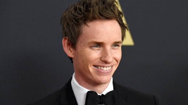 Eddie Redmayne Officially joins 'Fantastic Beasts' as Newt Scamander