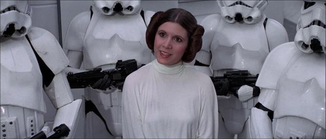 First Look at Carrie Fisher's Princess Leia in 'Star Wars 7'